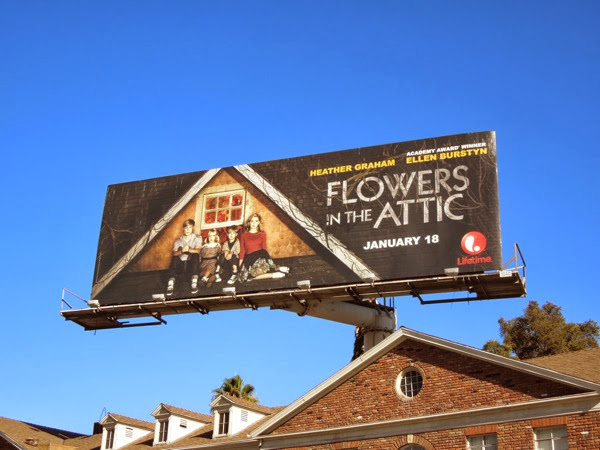 Flowers in the Attic Lifetime movie billboard