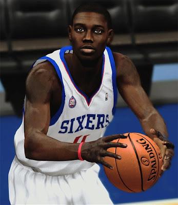 NBA 2K13 Jrue Holiday Cyberface Patch