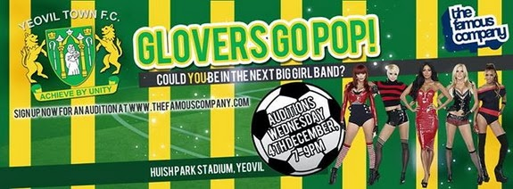 Championship club Yeovil Town become first football team to have their own girl band