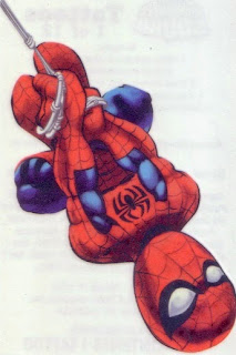 Spider-Man from Marvel Super Hero Squad tattoos