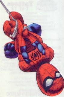Spider-Man from Marvel Super Hero Squad tattoos