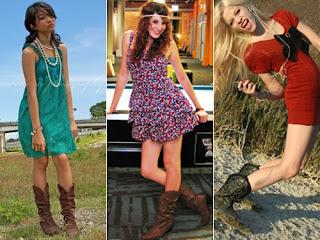 fotos de modelos de vestidos country