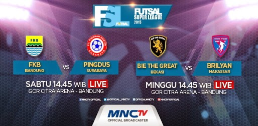 Bie The Great Bekasi vs Brilyan Makassar Futsal 2015