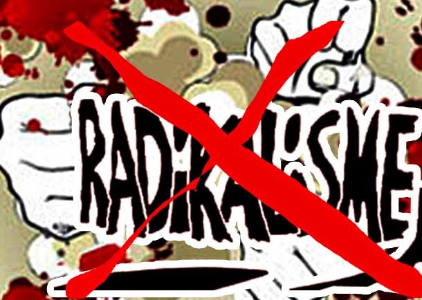 Radikalisme Incar Masyarakat Stres