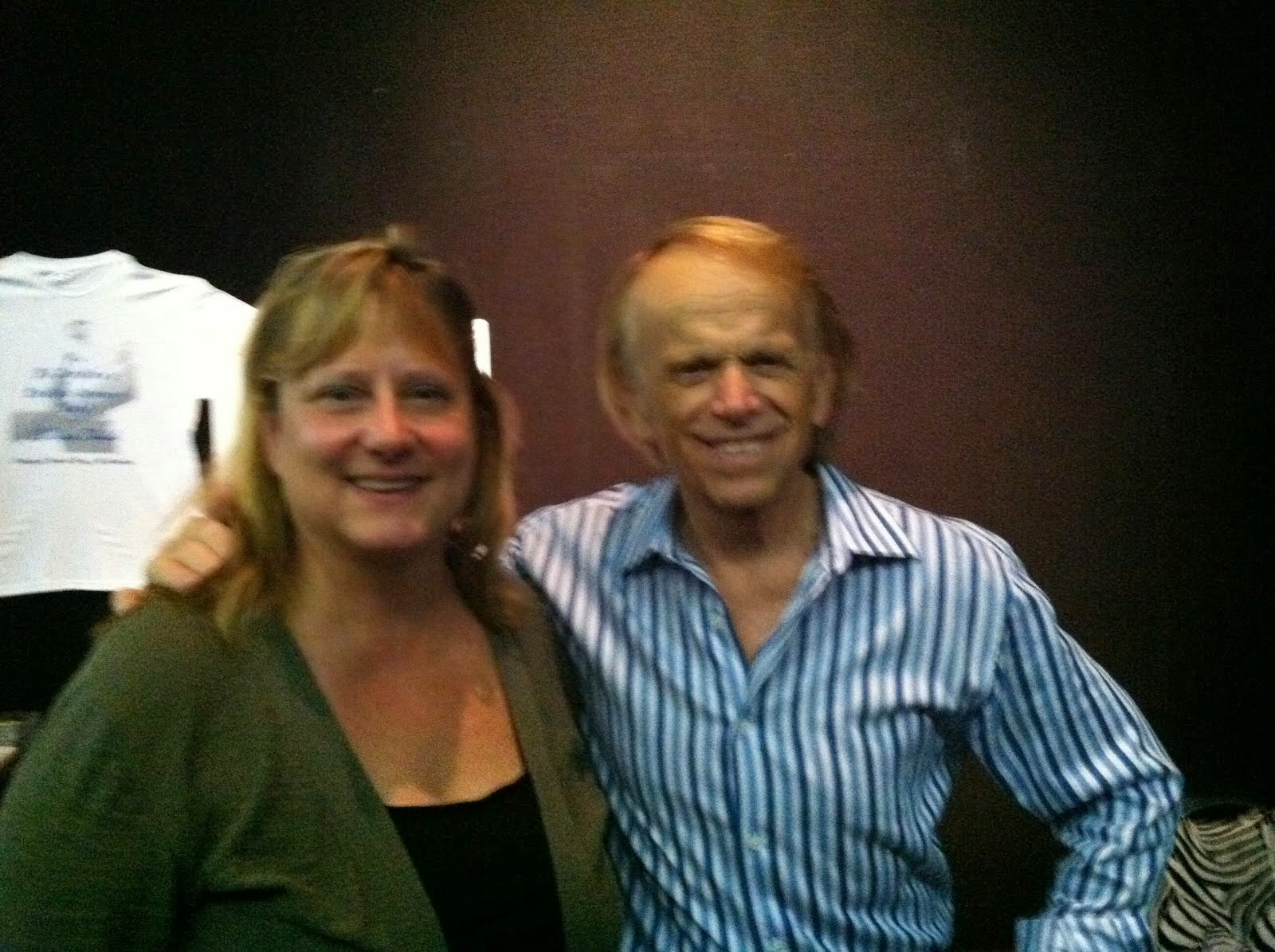 Beach Boy AL Jardine with Beach Girl Barb