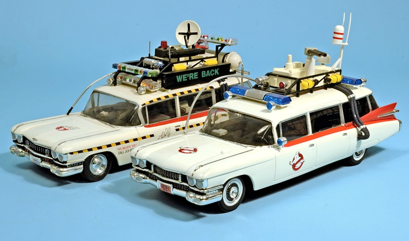 New Movie Ghostbusters S Car Model Kit