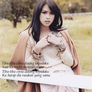 Maudy Ayunda - Tiba-Tiba Cinta Datang
