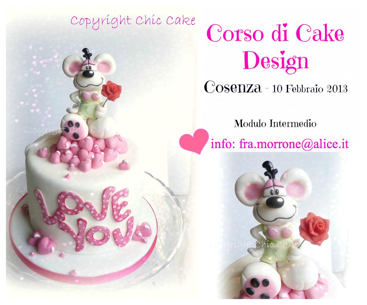 Corso Cake design San Valentino - Cosenza da Chic Cake su ...