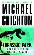 Book cover of Jurassic Park by Michael Crichton