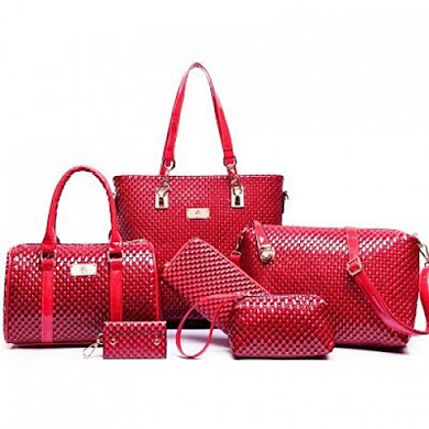 MULTI FUNCTION BAG (6 IN 1 SET) - RED