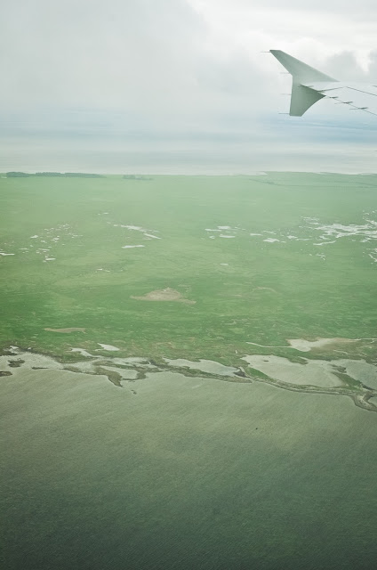 foto aerea costa dinamarca
