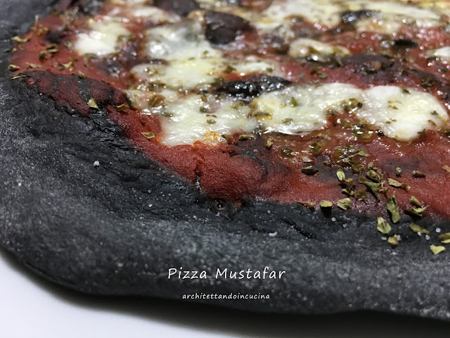 la pizza mustafar per lo star wars tribute