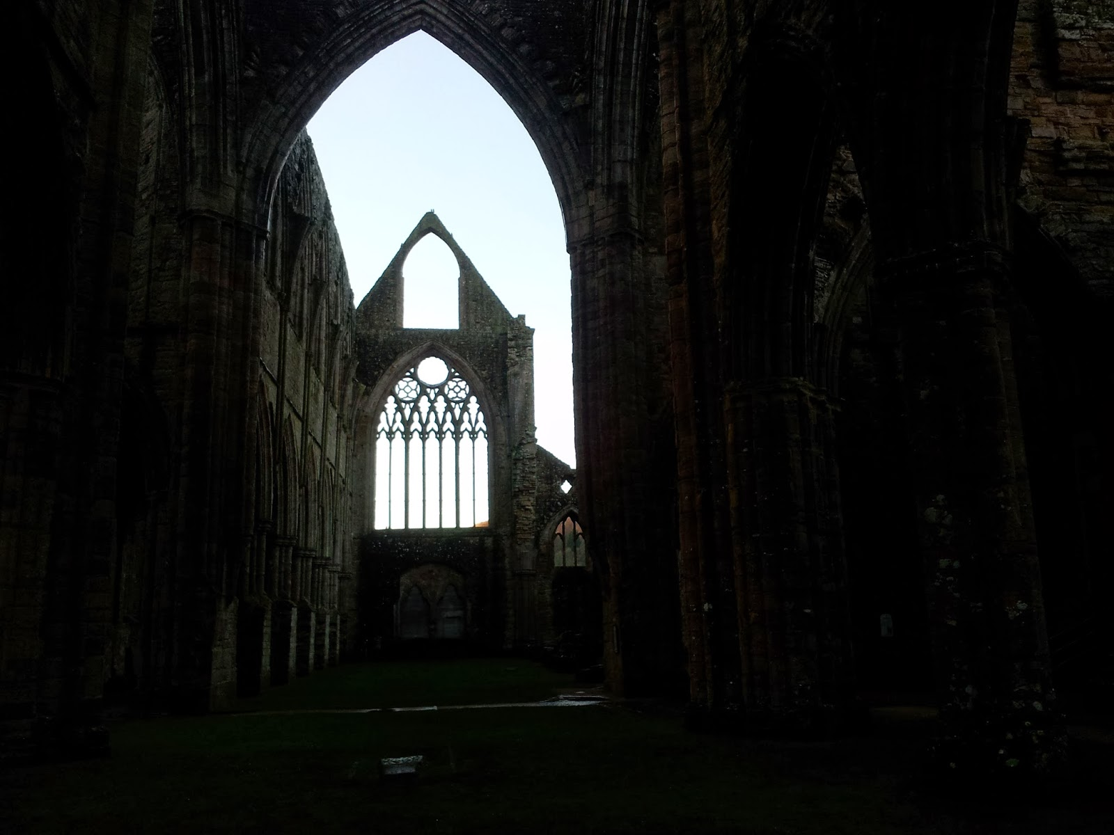 West window Tintern Abbey