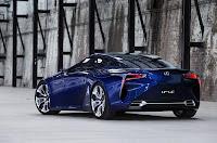 Lexus LF-LC Blue Concept (2012) Rear Side