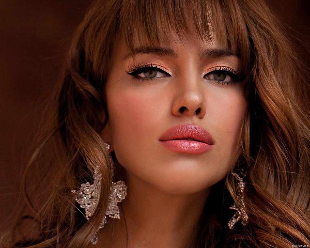 Irina Sheik have a beautiful face