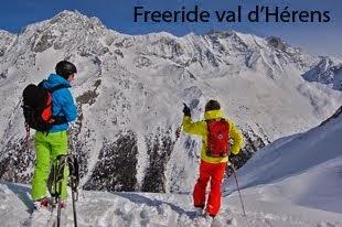 Freeride val d'Herens ¦ Arolla, Evolène, Nax, Thyon 4 Vallées