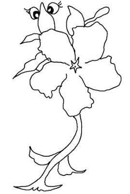 Line Drawing :: Clip Art :: Flower