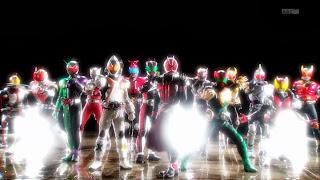Kamen Rider Wizard Special Kuuga Agito Ryuki Faiz Hibiki Kabuto Den-O Blade Kiva Decade W OOO Fourze Gaim