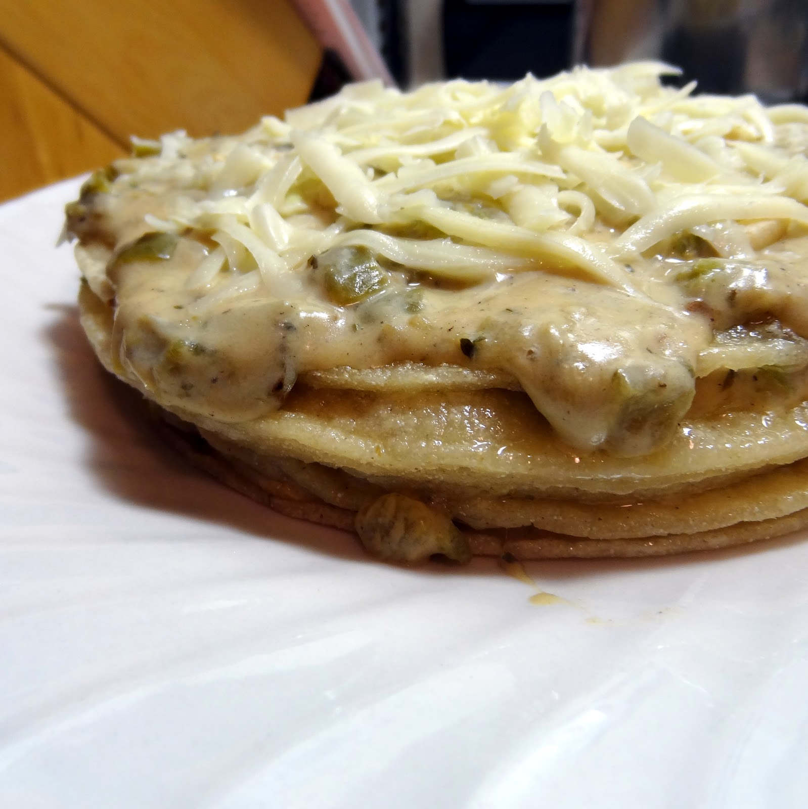 miss mochis adventures new mexican green chile enchilada