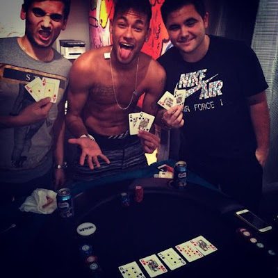 Poker and Football: Neymar and the Perfect Union of Two Sports