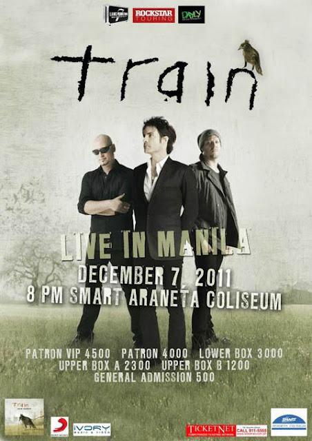 Train Live Concert in Manila