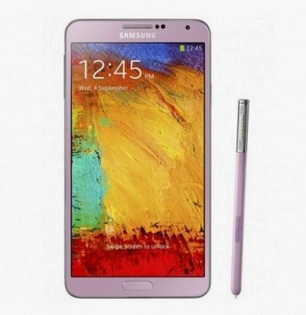 Le vendite della versione rosa del phablet di terza generazione di Samsung iniziano in due paesi UK, e USA a partire da novembre 2013