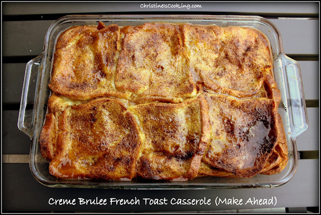 Creme Brulee French Toast Casserole (Make The Day Before Christmas ...