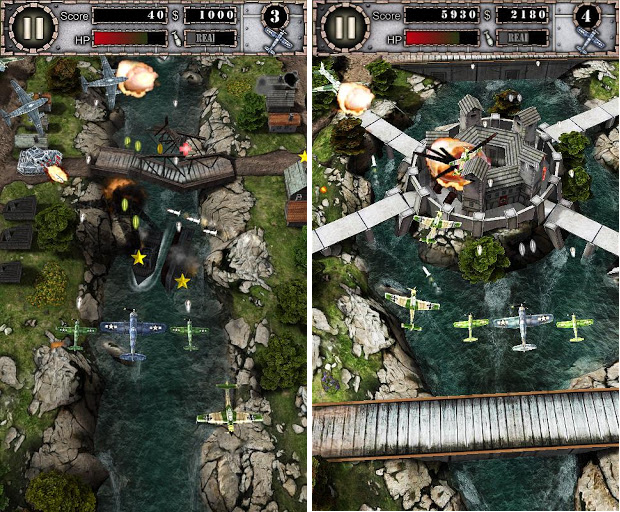 air attack hd android game