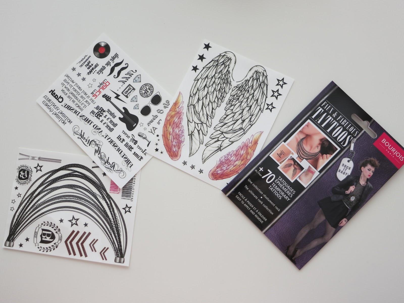 Bourjois sort un kit de tattoos éphémères madmoiZelle