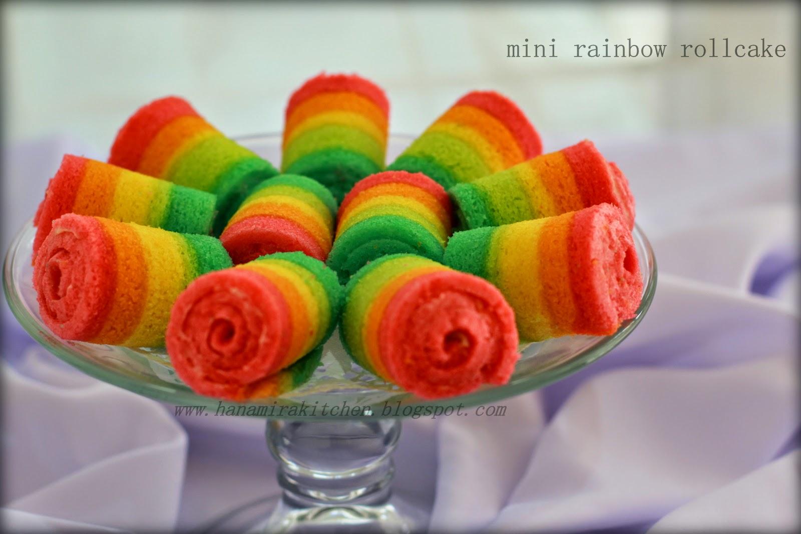 Mini Rainbow Rollcake Hanamira Kitchen