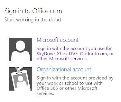 Office.com Signon