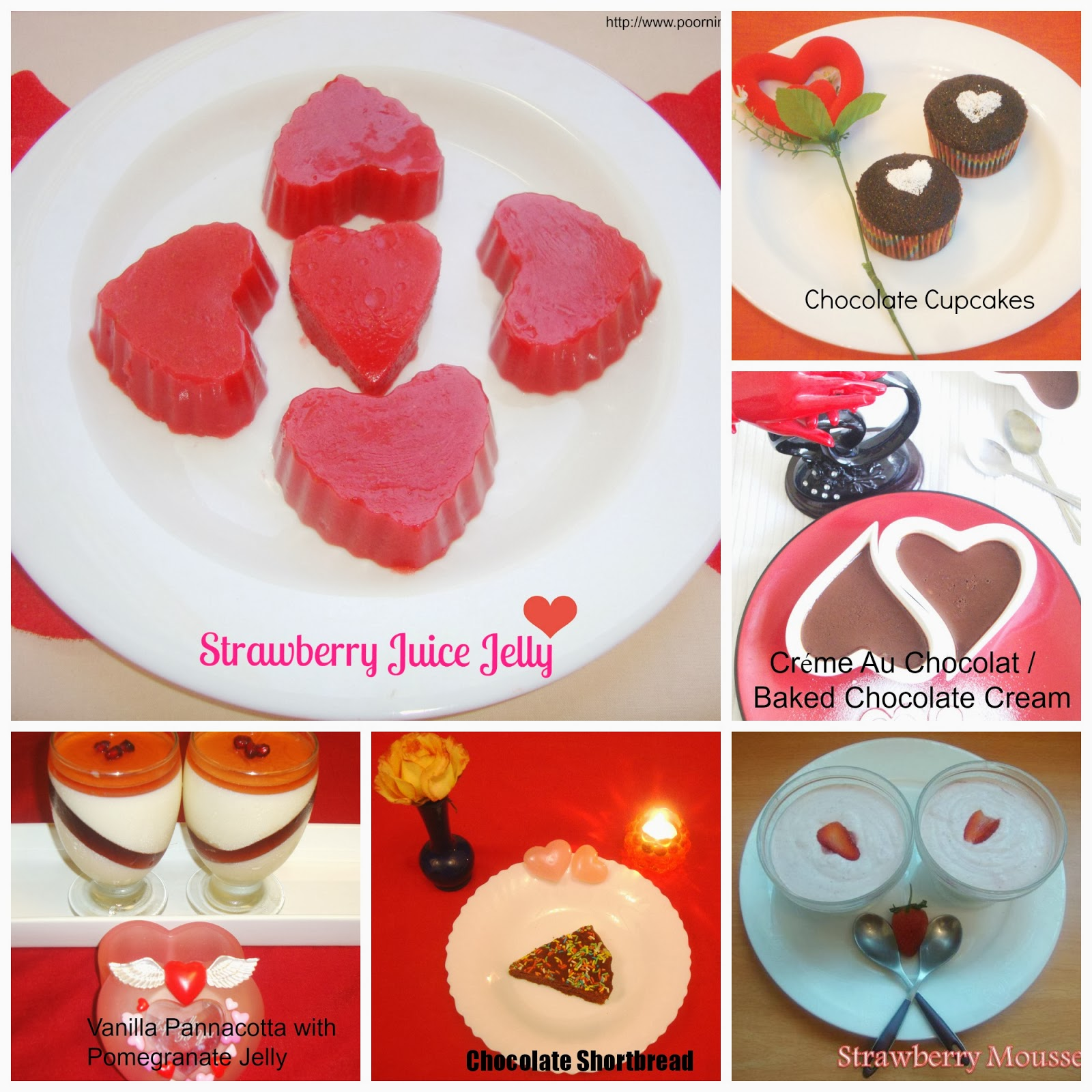 Valentines Day Dessert Treats