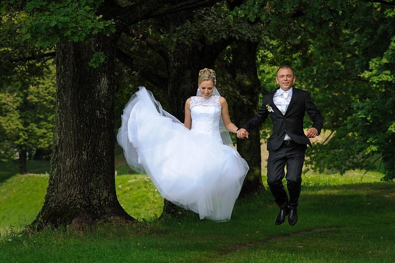 linksmos vestuvės Pasvalyje