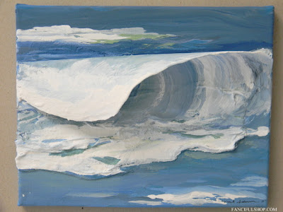Fanciful Designs - Ocean Paintings in 3D