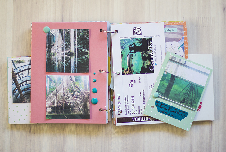 how to make a travelogue for school project