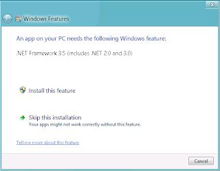 Cara Install .NET Framework 3.5 Di Windows 8 Secara Offline Dengan CD