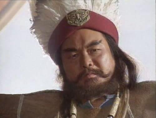 เบ้งเฮ็ก ในภาพยนตร์สามก๊ก ฉบับ ค.ศ.1994 ซึ่งเป็นชาติพันธุ์เผ่าอี๋