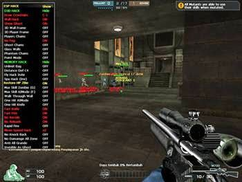 Release  07 Mei 2014 Crossfire Pekalongan Cyber ( Wallhack,Auto Headshot, Aim Mode, Esp Hack,1 Hit, Ammo, No Reload ,Fullhack )