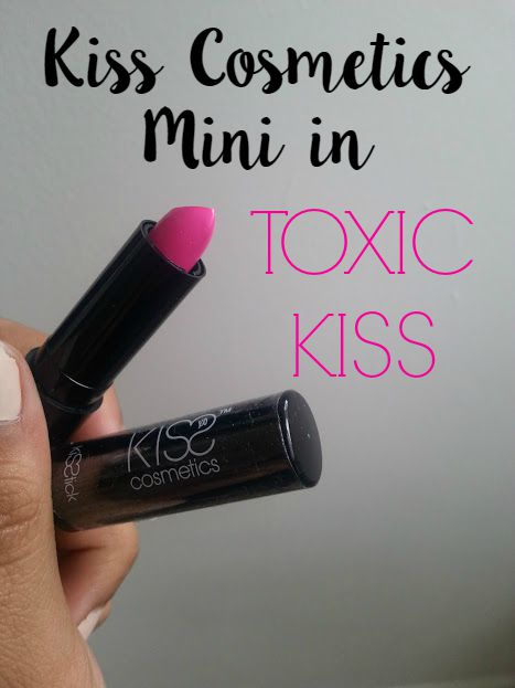 KISS Cosmetics Mini Kisstick in Toxic Kiss