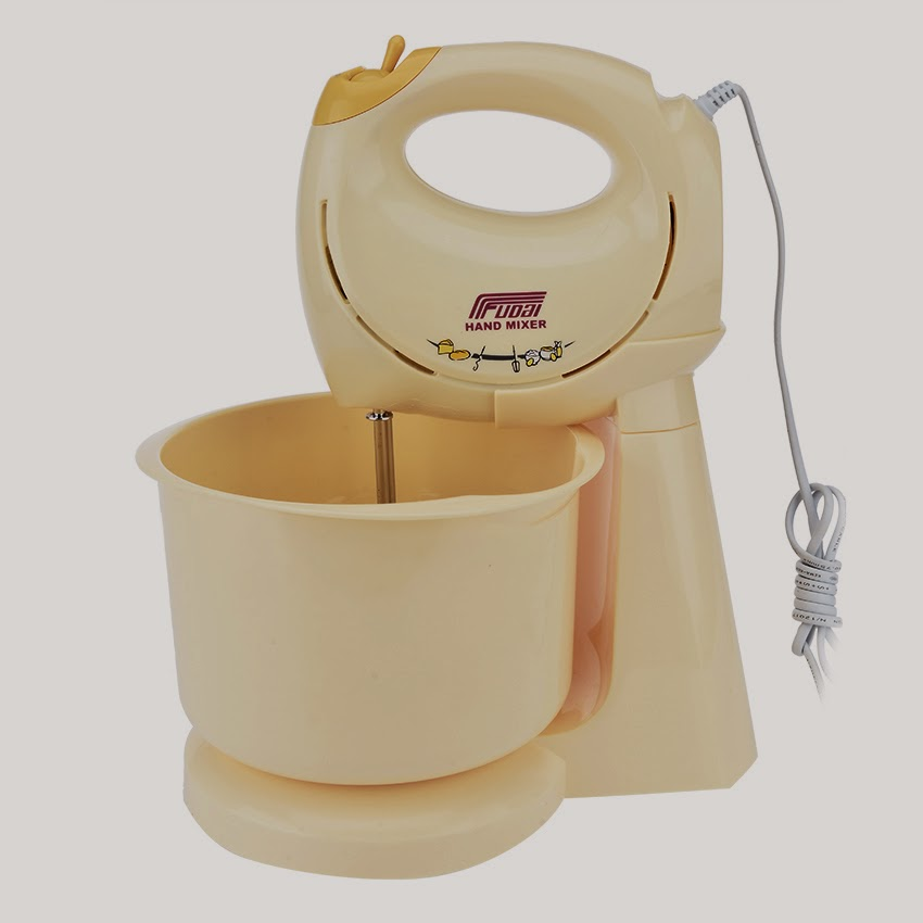 www.lazada.com-Fudai hand mixer with stand bowl