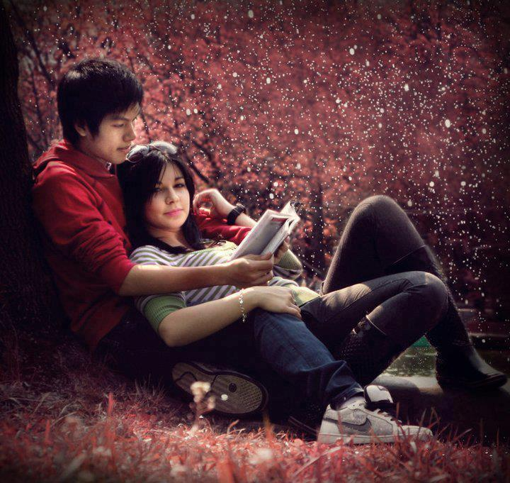 romantic-reading-love