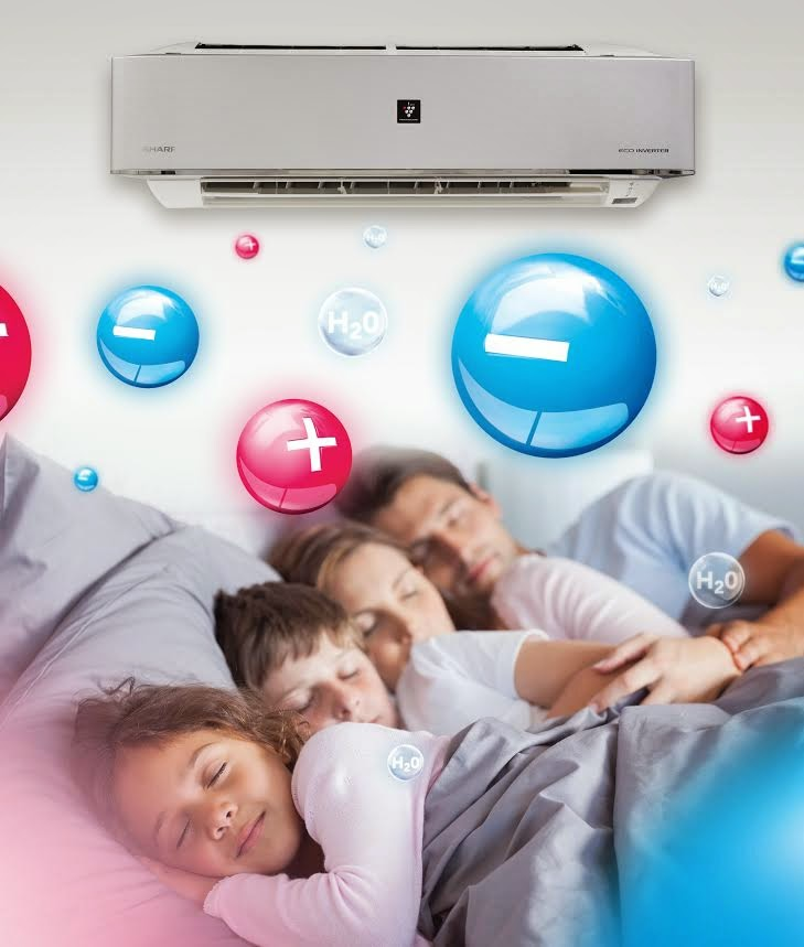Get a good night's sleep for better health with Sharp air conditioners