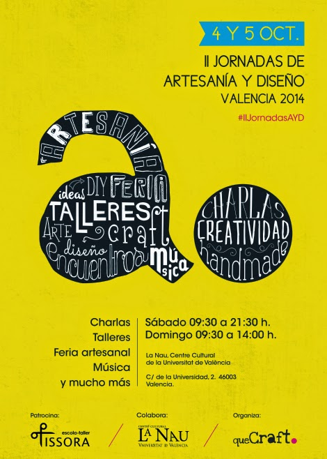 Visita a II Jornadas jornadas de artesan�a y dise�o en Valencia