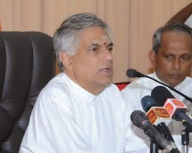 Jaffna visited Ranil was with Red Dot on Forehead