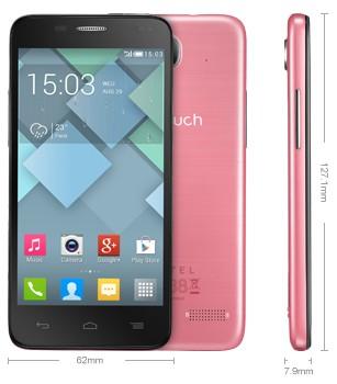 Nuovo smartphone di fascia medio/bassa per Alcatel molto leggero e piuttosto sottile