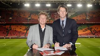 Frank Spooren - Edwin van de Sar Ajax Weekend