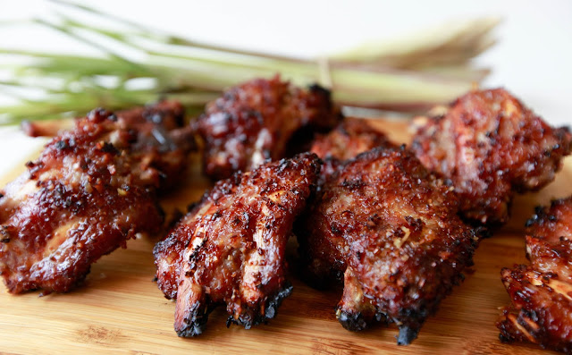 Vietnamese Lemongrass Pork Ribs