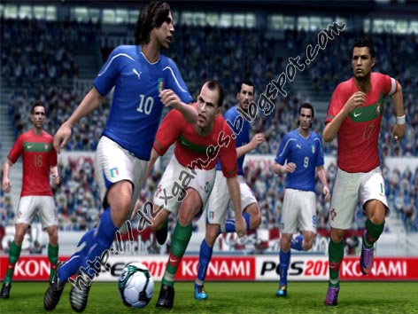 Free Download Games - Pro Evolution Soccer 2011