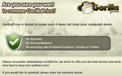 in browsers and causes browser problems and displays commercial