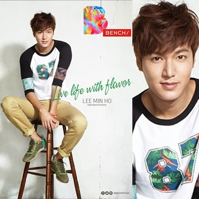 Lee Min Ho for Bench Summer 2014